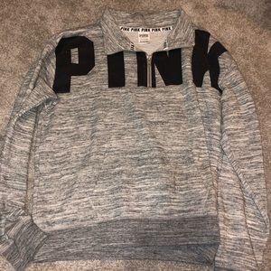 ***NEVER WORN*** pink half zip sweatshirt